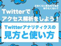 Twitterでアクセス解析をしよう!Twitterアナリティクスの見方と使い方